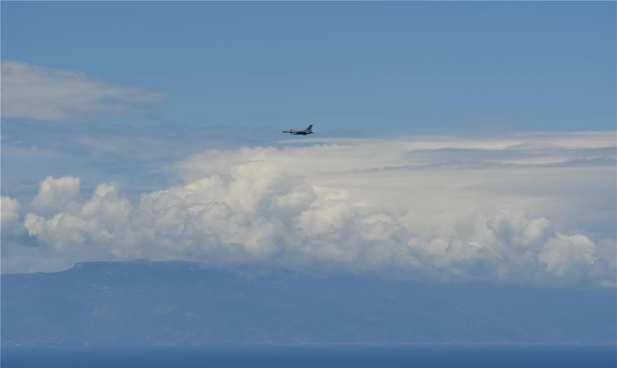 Τουρκικά F-16 πάνω από Οινούσσες και Νήσο Παναγιά