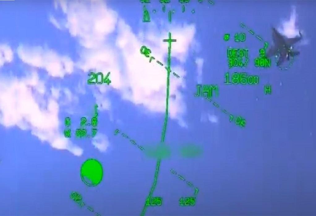 Βίντεο-ντοκουμέντο: Ελληνικό Mirage καταδιώκει τουρκικό F-16