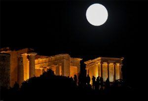 Πανσέληνος και έκλειψη Σελήνης ορατή από την Ελλάδα