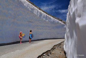 Κρήτη: Χιόνια εν μέσω… καύσωνα (ΦΩΤΟ)