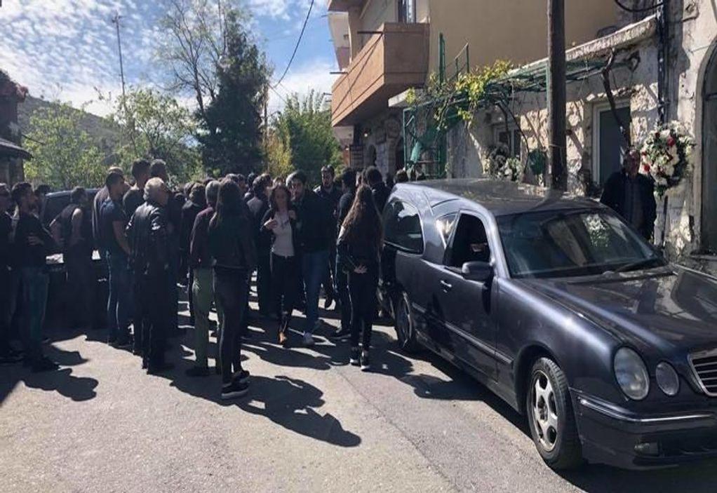 Φονικό στα Ανώγεια: Οδύνη στην κηδεία του 30χρονου