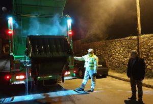Ιωάννινα: Εντατικές απολυμάνσεις και καθαρισμός κάδων