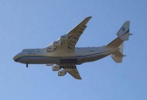 Το μεγαλύτερο αεροπλάνο του κόσμου στο Ελ. Βενιζέλος