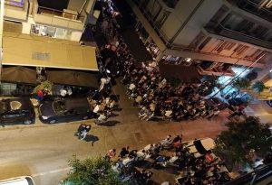 Θεσσαλονίκη: Ένταση έξω από μπαρ με take away ποτά