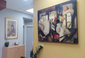 Έργα Τέχνης στους χώρους της Κοσμητείας Σχολής Επιστημών Υγείας ΑΠΘ
