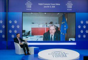 Π. Τζεντιλόνι: Ψήφος εμπιστοσύνης στην ελληνική οικονομία