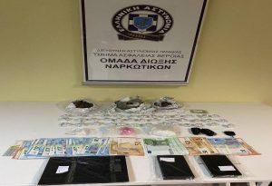 Δύο συλλήψεις για κατοχή κοκαΐνη και κάνναβη