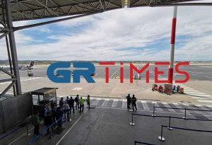 Αεροδρόμιο «Μακεδονία»: Άφιξη της πρώτης πτήσης από εξωτερικό (VIDEO)