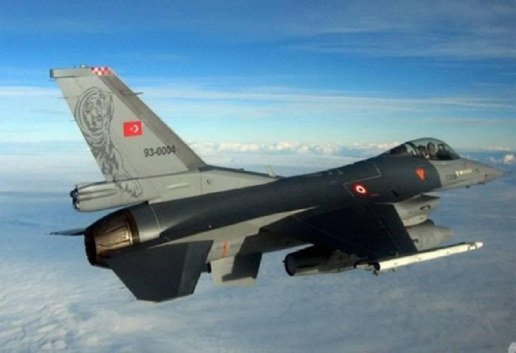 Τουρκία: Νέες παραβιάσεις στο Αιγαίο