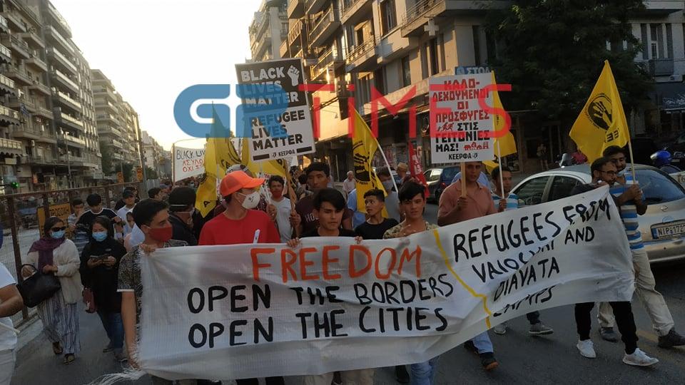 Αντιρατσιστικό συλλαλητήριο στη Θεσσαλονίκη (ΦΩΤΟ- VIDEO)
