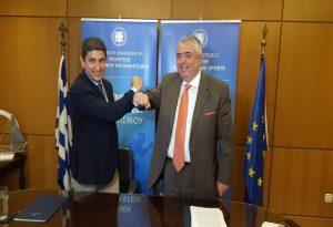 Μνημόνιο συνεργασίας μεταξύ υφυπουργείου Αθλητισμού και Πανεπιστημίου Πελοποννήσου