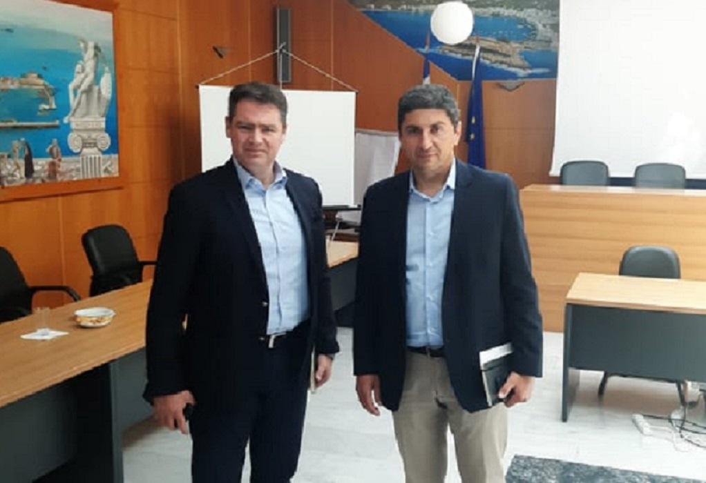 Επίσκεψη Αυγενάκη στο δήμο Χερσονήσου