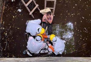 Μπαλί: Διασώθηκε μετά από έξι μέρες σε δεξαμενή νερού