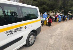 Πόσες αποστολές πραγματοποίησαν οι κινητές Ομάδες Υγείας του ΕΟΔΥ
