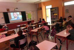 Νέες δράσεις του «Ζήσε Αθλητικά» με… τηλεπισκέψεις σε δημοτικά σχολεία