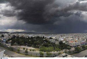 Καιρός: Μια «ψυχρή λίμνη» φέρνει κακοκαιρία στην Ελλάδα
