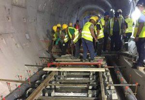 Μετρό-Καλαμαριά: Άρχισε η σκυροδέτηση της σιδηροδρομικής επιδομής