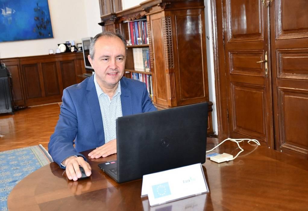 Καράογλου: Υπέγραψε ευρωπαϊκό έργο για τα αγροδιατροφικά προϊόντα