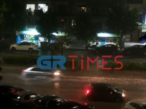 Ισχυρή καταιγίδα στη Θεσσαλονίκη  (ΒΙΝΤΕΟ)
