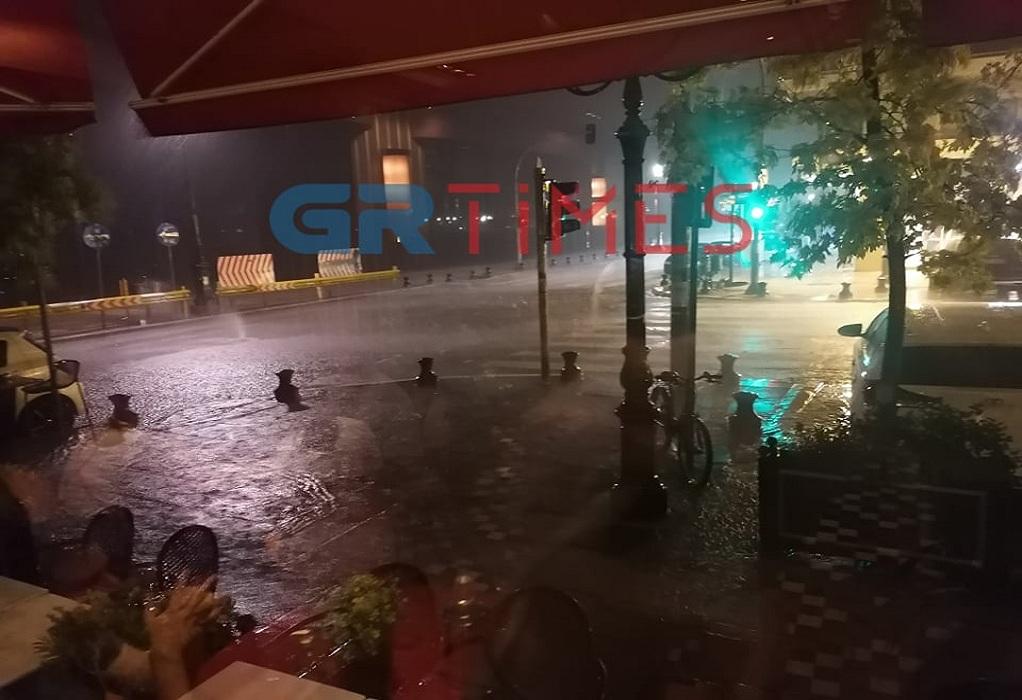 Πόσα χιλιοστά βροχής έπεσαν χθες στη Θεσσαλονίκη (Χάρτες)