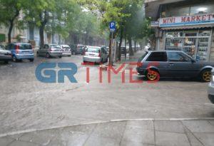 Καταιγίδα τώρα στη Θεσσαλονίκη (VIDEO)