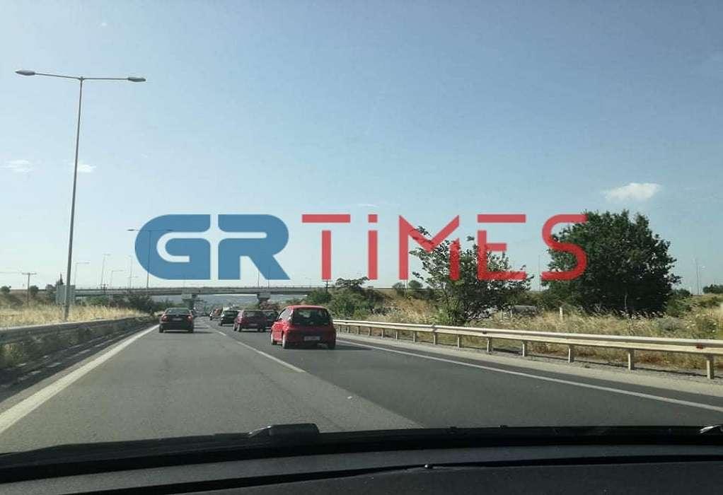 Θεσσαλονίκη: Αυξημένη κίνηση και χαμηλές ταχύτητες λόγω έργων στη Μουδανιών