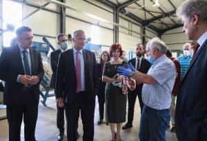 Μ. Βορίδης: Συναντήσεις με παραγωγούς στην Κοζάνη