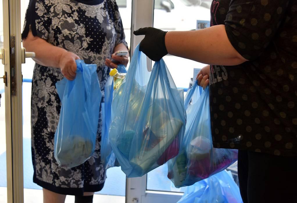 Ν. Προποντίδα: Διανομή τροφίμων μέσω Κοινωνικού Παντοπωλείου