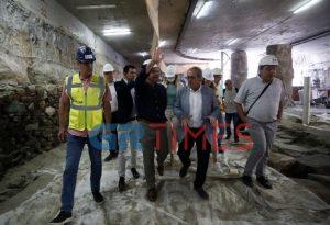 Στον σταθμό Βενιζέλου ο Τσίπρας με τον Γ. Μυλόπουλο