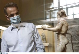 Μητσοτάκης: Δεν νοείται Ελλάδα χωρίς ανοιχτούς αρχαιολογικούς χώρους
