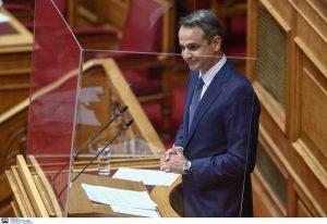 Νέα μέτρα στήριξης ανακοινώνει ο Μητσοτάκης στη Βουλή (LIVE)
