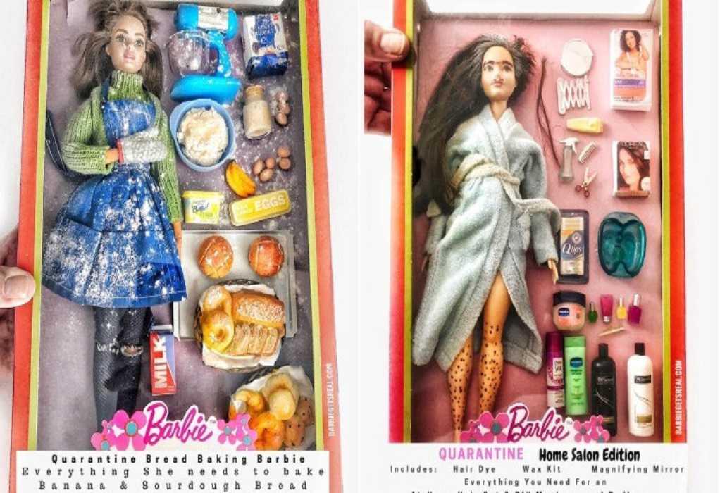 Η κούκλα Barbie σε καραντίνα (ΒΙΝΤΕΟ)