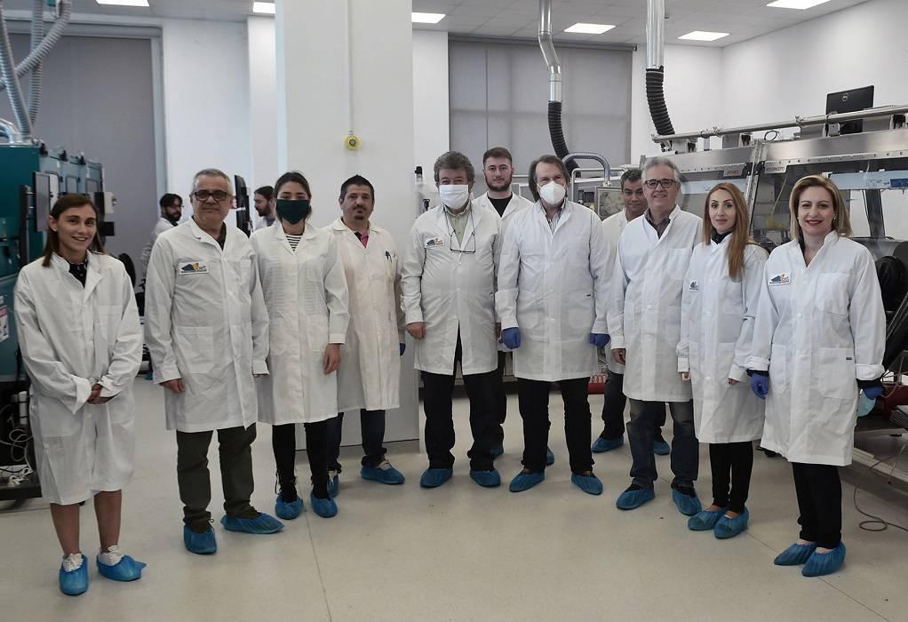 Επίσκεψη στο Εργαστήριο Νανοτεχνολογίας ΑΠΘ