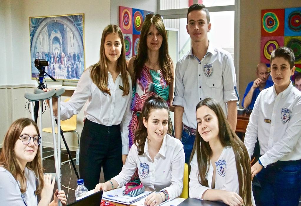 Εκπαιδευτήρια Φρυγανιώτη: Χρυσό μετάλλιο σε πανελλήνιο διαγωνισμό