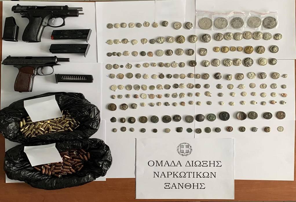 Με όπλα και αρχαία, 40χρονος που συνελήφθη