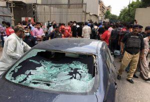 Πακιστάν: Επίθεση ενόπλων στο Χρηματιστήριο του Καράτσι (ΒΙΝΤΕΟ)