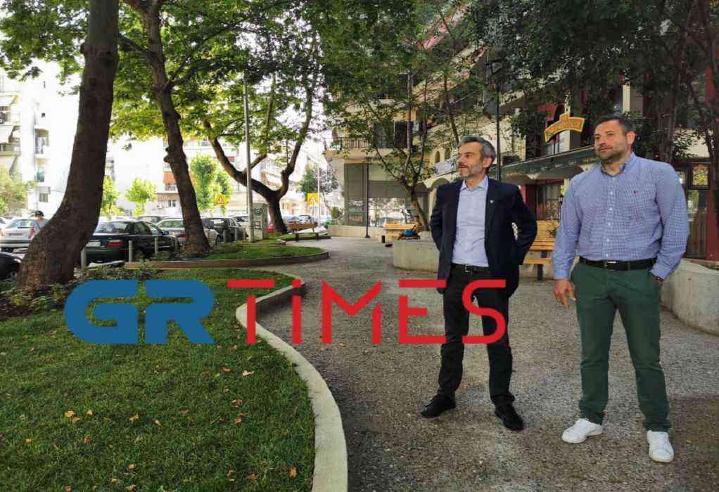 """Θεσσαλονίκη: Τα πρώτα """"πάρκα τσέπης""""-Αυτοψία Ζέρβα (ΦΩΤΟ+VIDEO)"""
