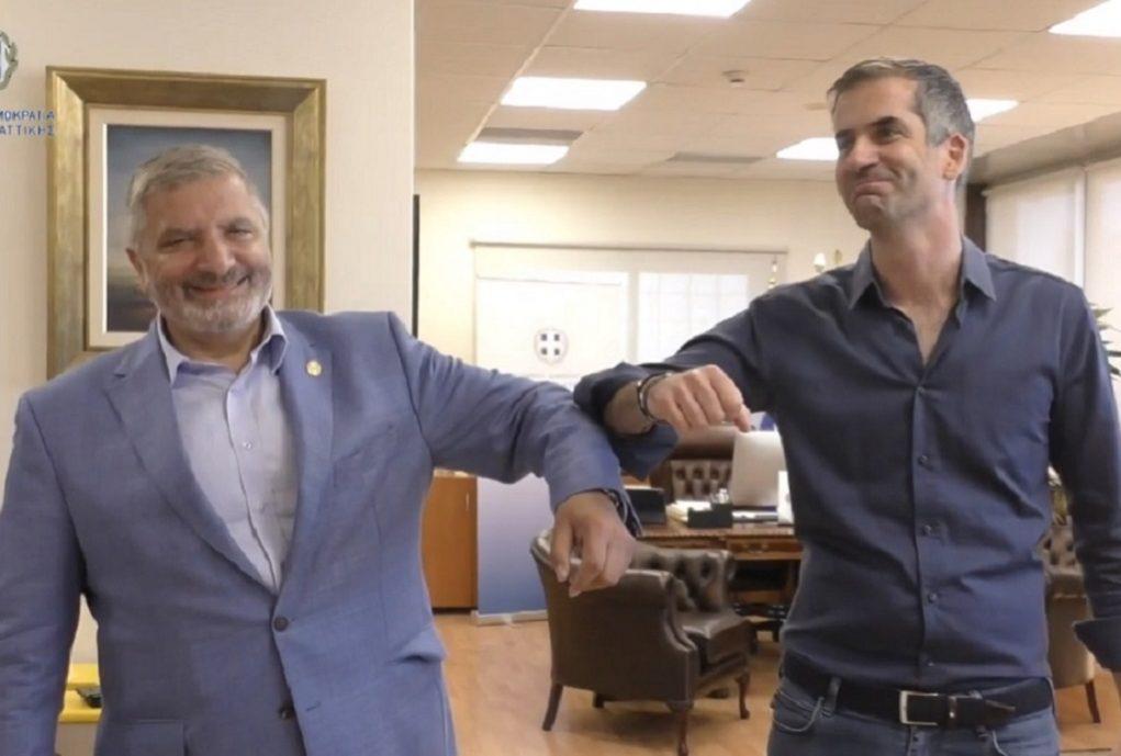 Ο «Μεγάλος Περίπατος της Αθήνας» στη συνάντηση Πατούλη – Μπακογιάννη (VIDEO)