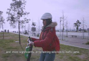 Β. Πατουλίδου: Ανακαλύψτε τη Θεσσαλονίκη με ένα πατίνι! (ΒΙΝΤΕΟ)