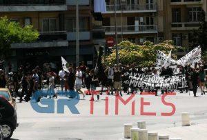 Πορεία για την πράσινη ανάπτυξη στο κέντρο της Θεσσαλονίκης