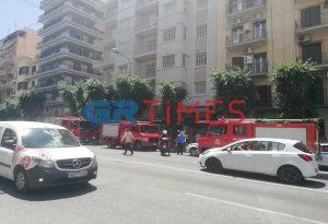 Καμένο πτώμα στο κέντρο της Θεσσαλονίκης (ΦΩΤΟ+VIDEO)