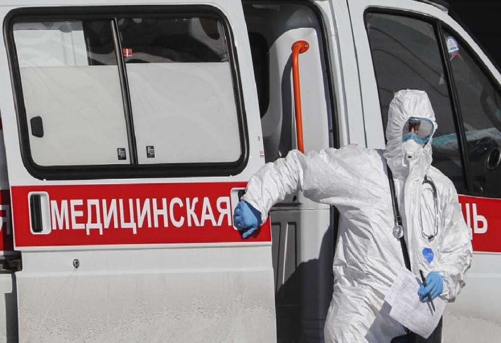 Ρωσία-κορωνοϊός: Περισσότερα από 5.000 νέα κρούσματα
