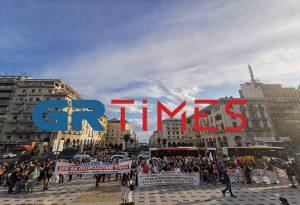 Συλλαλητήριο στη Θεσσαλονίκη: «Πληρώσαμε πολλά» (ΦΩΤΟ+VIDEO)