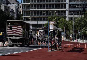 «Μεγάλος Περίπατος» στα μέρη της πλατείας Συντάγματος (ΦΩΤΟ)