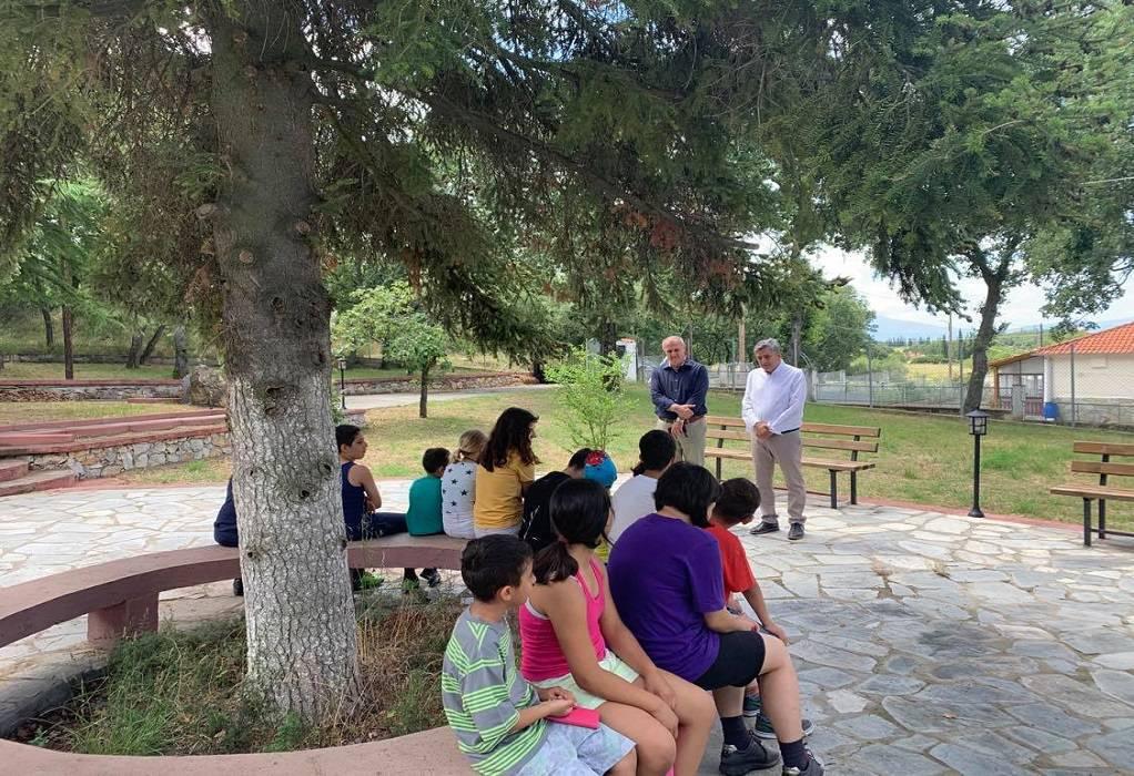 """Ι. Ταχματζίδης: Επίσκεψη στο """"Χαμόγελο του παιδιού"""""""
