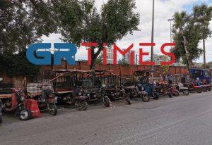 Θεσ/νίκη: «Σκούπα» της Τροχαίας για τρίκυκλα – ιδιοκατασκευές (ΦΩΤΟ)