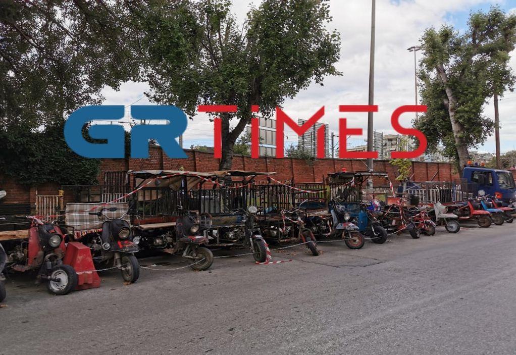 """Θεσ/νίκη: """"Σκούπα"""" της Τροχαίας για τρίκυκλα – ιδιοκατασκευές (ΦΩΤΟ)"""