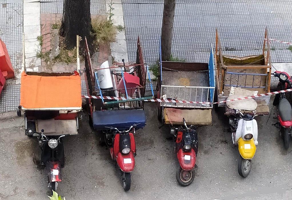 Τροχαία Θεσσαλονίκης: Εντόπισε 14 τρίκυκλα- ιδιοκατασκευές