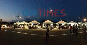 Φεστιβάλ Βιβλίου: Λογοτεχνικός… περίπατος στη Νέα Παραλία (ΦΩΤΟ ΚΑΙ ΒΙΝΤΕΟ)