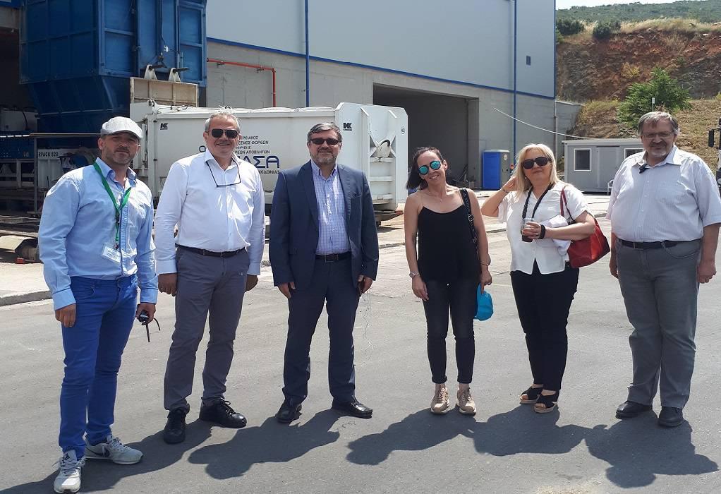 Εύσημα στον ΦΟΔΣΑ Κ. Μακεδονίας για την υποδειγματική λειτουργία των έργων του